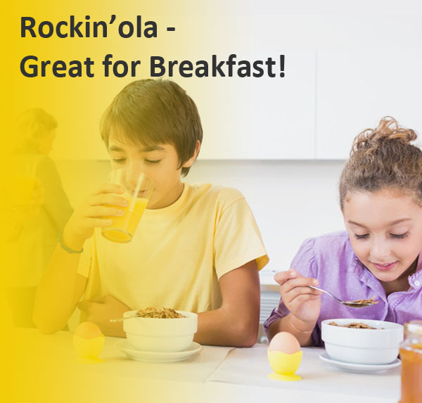 RockinOla Granola Great for Breatkfast