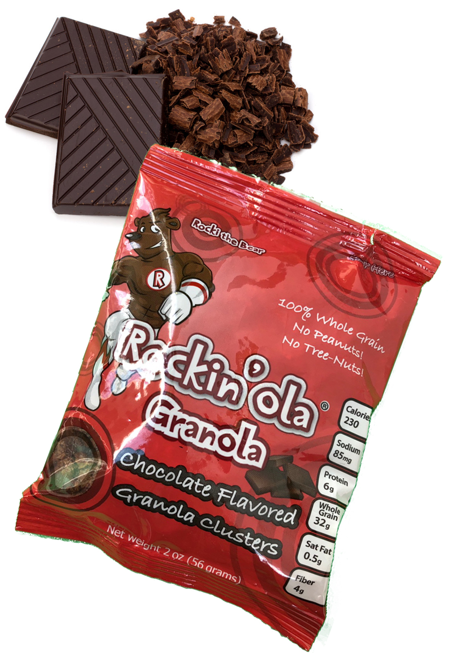 RockinOla Granola Chocolate Flavor