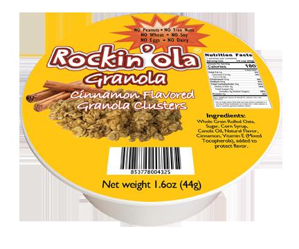 Rockin'Ola Cinnamon Granola Nut FREE