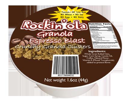 Rockin'Ola Espresso Granola Nut FREE